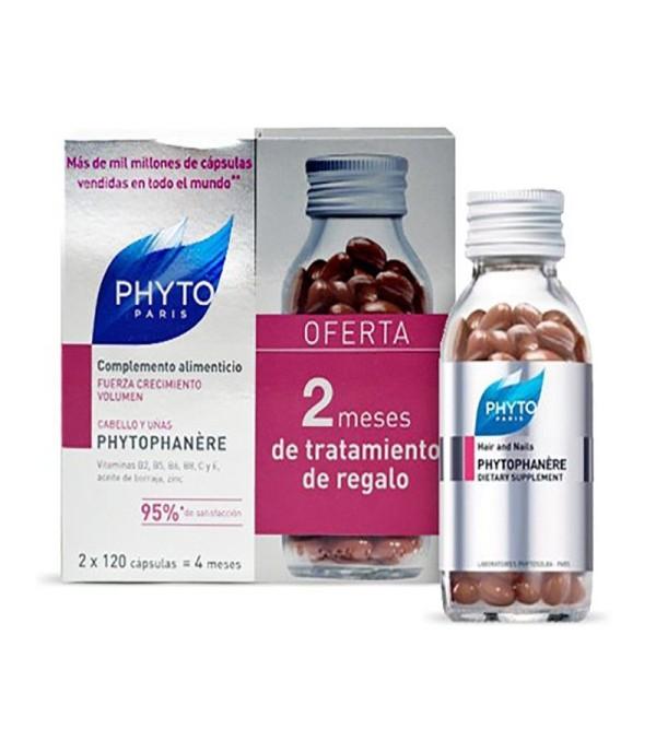 Phyto Phytophanere 120+120 cápsulas Duplo