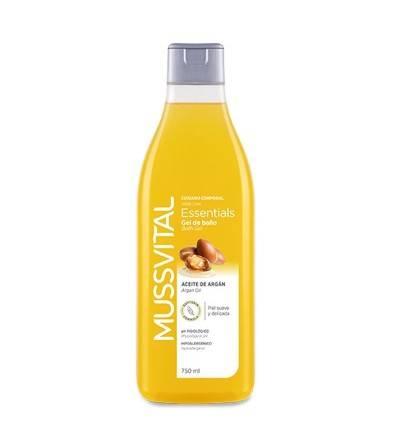 Mussvital gel aceite de argán 750 ml