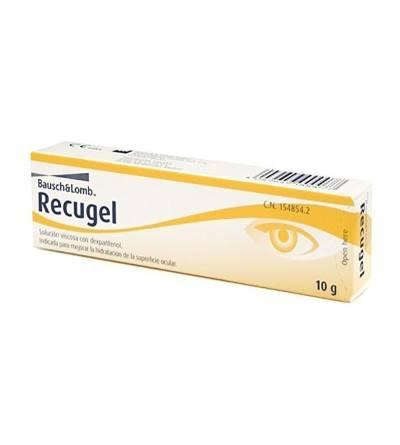 RECUGEL HIDRATACION S OCULAR  10 G 10 G