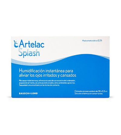 Artelac Splash 30 monodosis 0,5 ml