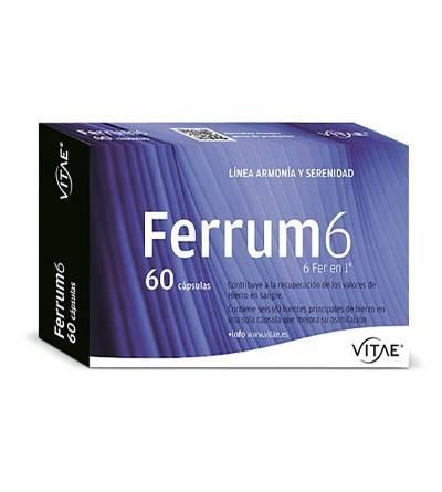 Vitae Ferrum 6 60cáps