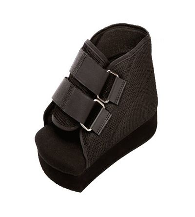 Zapato post quirúrgico Orliman en talón