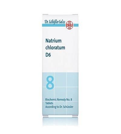 DHU Sal Schussler 8 Natrium chloratum D6 comprimidos