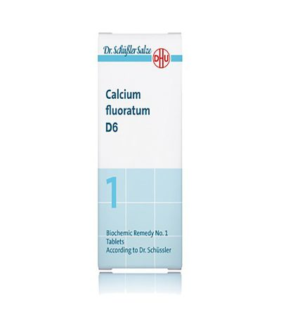 DHU SALES 1 CALCIUM FLUOR COMP