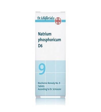 DHU SALES 9 NATRIUM PHOSPHORICUM D6 80 COMP