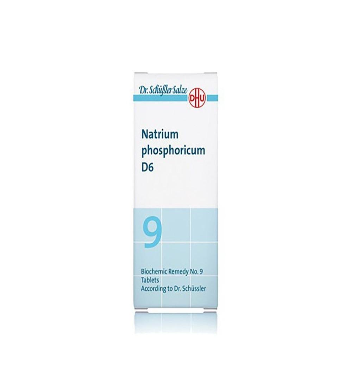 DHU Sal Schussler 9 Natrium phosphoricum D6 comprimidos