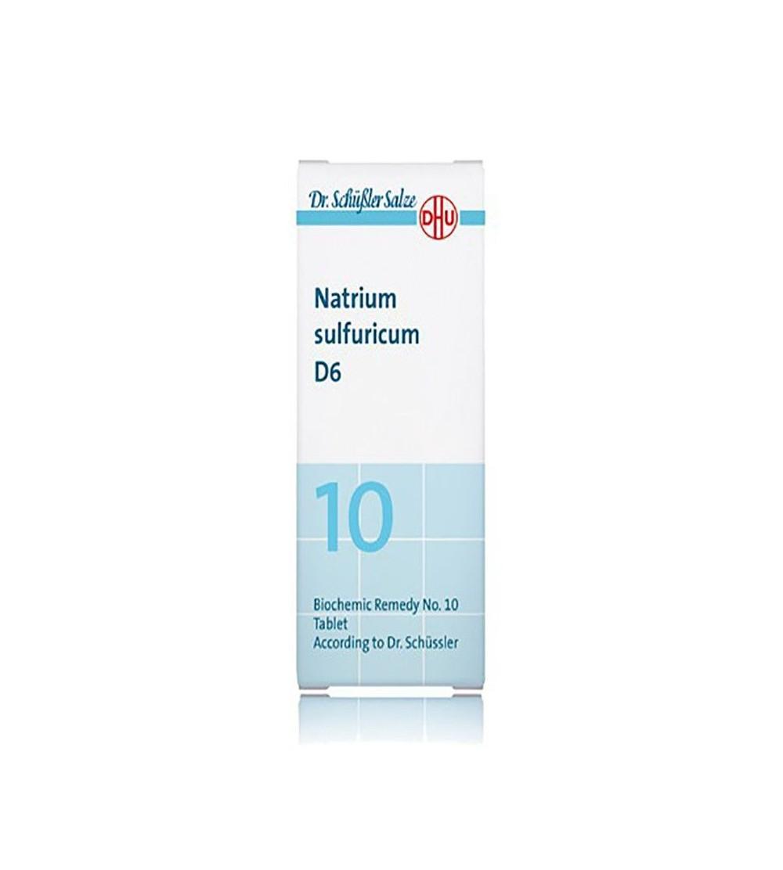 DHU Sal Schussler 10 natrium sulfuricum D6 comprimidos