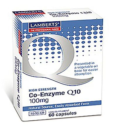 LAMBERTS CO ENZIMA Q10 100MG 60 CAP
