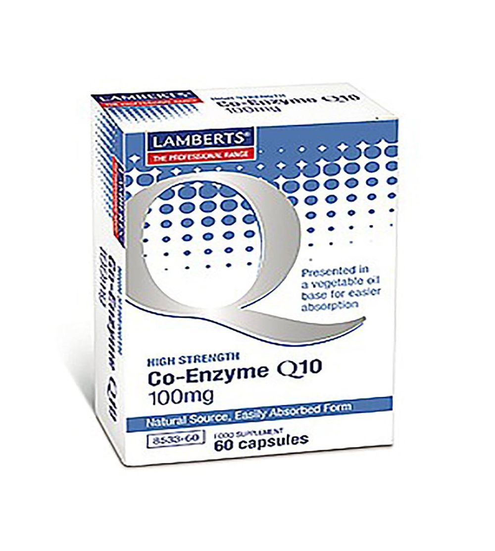 Lamberts Co enzima Q10 100 mg 60 cáps