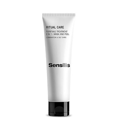 Sensilis Ritual Care mascarilla purificante 2 en 1 75 ml