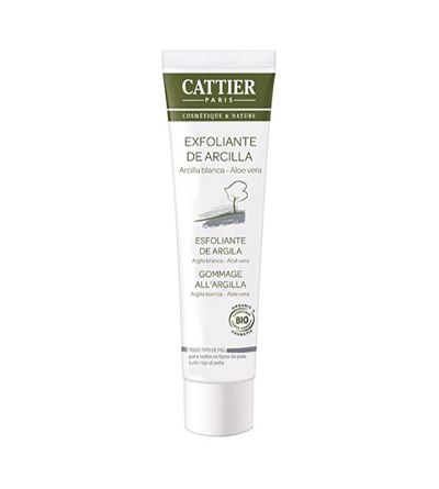 Cattier exfoliante de arcilla facial 100 ml