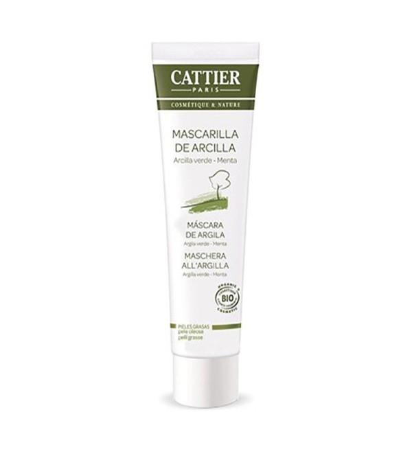Cattier mascarilla de arcilla verde piel grasa 100 ml