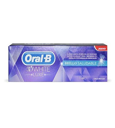 Oral B pasta dental Luxe white 75 ml