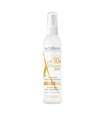 A-DERMA PROTECT SPRAY SOLAR SPF 50+ KIDS DUCRAY 200 ML