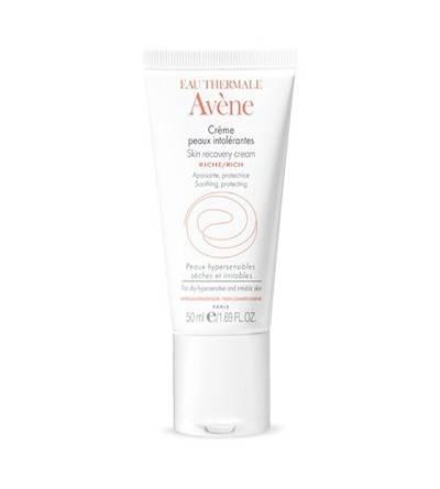 Avène crema para pieles intolerantes enriquecida 50 ml