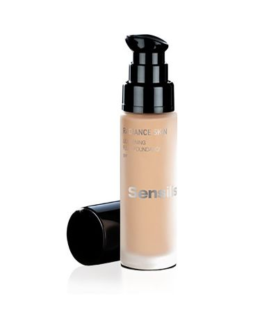 SENSILIS RADIANCE SKIN LIGHTENING SPF-15 BASE DE ECLAT DE NOISETTE
