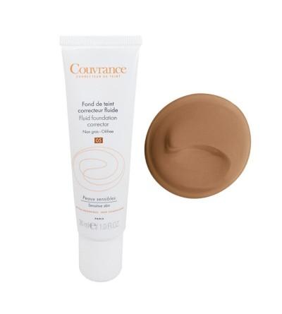 Avène Couvrance maquillaje fluido tono 05 bronceado