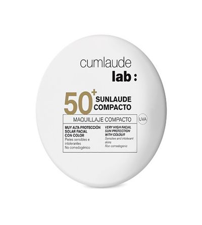 Cumlaude Sunlaude Compacto color SPF 50+ tono medium 10 g