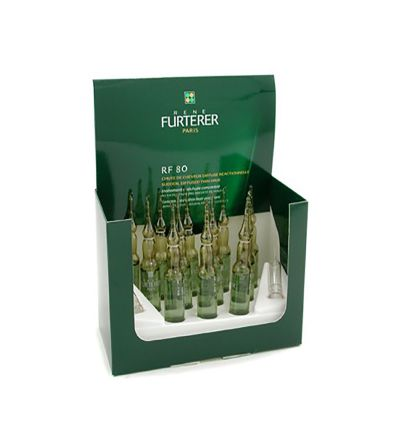 Rene Furterer RF 80 concentrado anticaída 12 uds x 5 ml