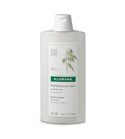 Shampoo Klorane supersoft de aveia 400 ml