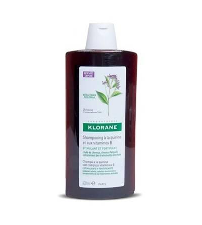 Shampoo Klorane quinino queda vitamina B 400 ml