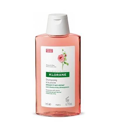 Shampoo Klorane peony calmante Itch 400ml