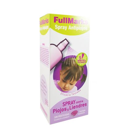 FullMarks spray antipiojos y liendres 150 ml
