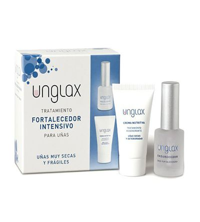 UNGLAX TTO FORTALECEDOR INTENSIVO UÑAS ENDURECED PACK 10 ML + 15 ML