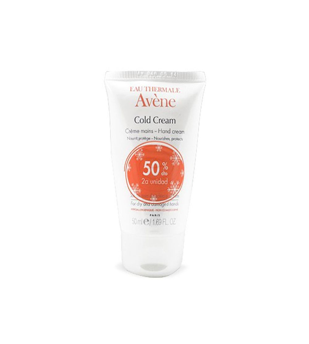 Avène crema manos Cold cream 50ml Pack Duo