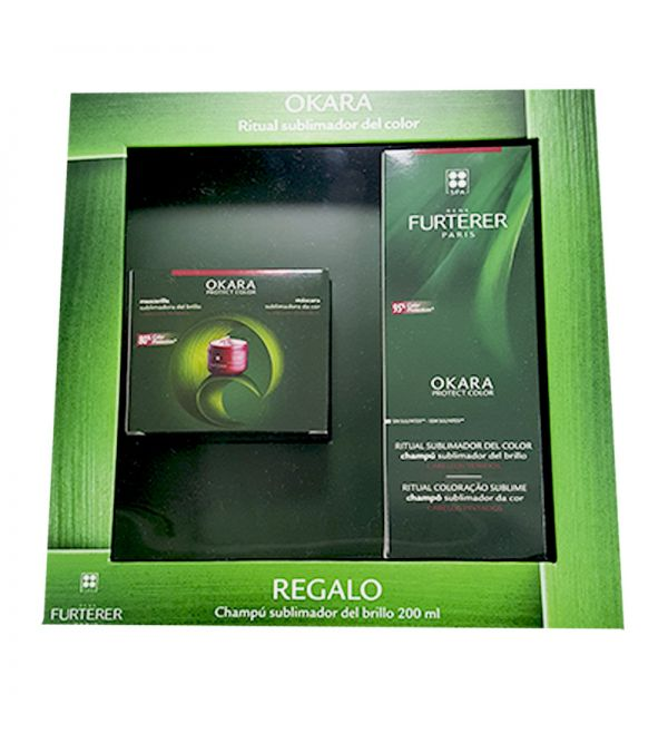 RENE OKARA CHAMPU SUBLIMADOR 200 ML + MASCARILLA 200 ML